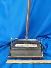 Antique Bissell'S New Grand Rapids Wood & Metal Floor Ball Bearing Sweeper