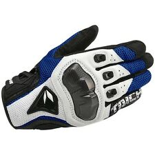 RST391  Taichi Perforated leather Motorcycle Mesh Gloves  Blue(M)