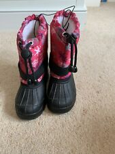 Girl's Pink Jelly Beans Snow Boots Infant 10 New