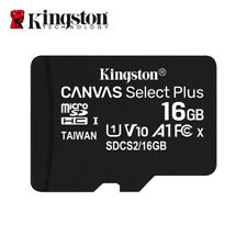 Kingston 16GB A1 MicroSD SDHC Class 10 TF Memory Card UHS-I 100MB/s Free Adapter
