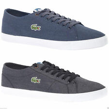 Lacoste Lace-up Canvas Upper Material Casual Shoes for Men