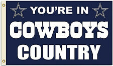 Dallas Cowboys Huge 3' x 5' Nfl Licensed Country Flag - Free shipping!