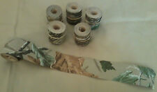 """Camo Tape, Realtree X-tra Brown, 6 rolls of 2"""" x10', bulk, Camp-Cap; Made in Usa"""