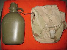 Us Army MOLLE II 1 QT Canteen cover Gebr con usadas 1 QT cantimplora Desert