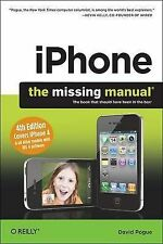 (Good)-iPhone: The Missing Manual: Covers iPhone 4 & All Other Models with iOS 4