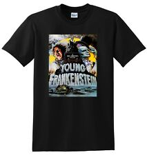 YOUNG FRANKENSTEIN T SHIRT poster SMALL MEDIUM LARGE or XL sizes