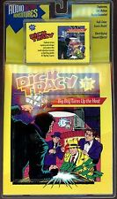 Dick Tracy #1: Big Boy Turns Up The Heat - New Cassette Tape & Comic Book Set!
