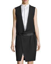 CELINE Sleevesless Tuxedo robe > NEUF > GENUNE > £ 1395 > 40it > 10/12uk > paris > France