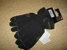 NWT*WOMANS LARGE *ROSSIGNOL SKI GLOVES  *BLACK