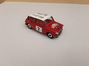 Corgi Toys  #321 MINI COOPER  MONTE CARLO