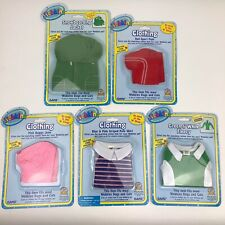 Lot Of 5 Webkinz Clothing Clothes With Unused Codes Brand New Top Bottom