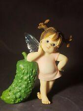 Enesco My Little Kitchen Fairies 2003 Fine Pickle Fairie