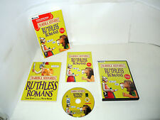 HORRIBLE HISTORIES RUTHLESS ROMANS complete dvd / small box pc videogame/book