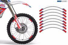 Rim Trim Kit For Honda CR 80 MX Dirt Bike Decals Sticker Wrap CR80 1996-2002 LO