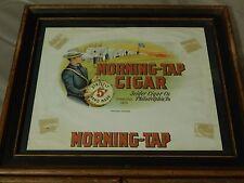 Morning-Tap Cigar - Framed Label [Embossed_Bronzed] Vangaurd Studios #4490 Ltd