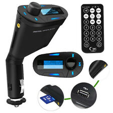 Transmisor FM REPRODUCTOR MP3 Cargador de Coche Nuevo a1698