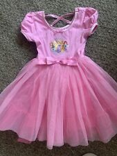 DISNEY STORE DISNEY PRINCESS PINK TUTU TULLE DRESS AGE 5/6 Yrs