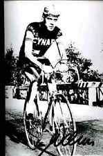 WERNER WEBER CYNAR Signature PRINTED Autograph cycling REPRO cyclisme ciclismo