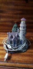"Thomas Kinkade ""Guiding Point Lighthouse"" Lamp Sculpture"