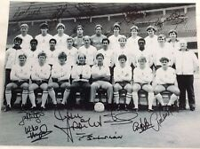 Tottenham Hotspur Hand Signed 1984 Squad 16x12 Photo  Proof COA