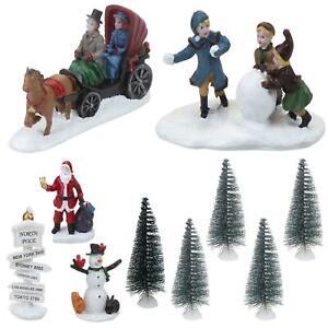 Christmas Village Scene Decoration - Choose Design