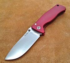 Lion Steel SR-2 MINI Folding Knife Sleipner Steel SR2A-RS Lionsteel Red NEW