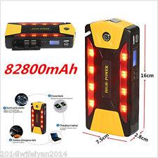82800mAh High-Power Portable Car Jump Starter Booster Battery Charger Power Bank