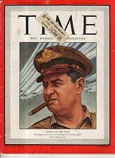 1945 Time August 13 - LeMay B-29's will bomb Japan; Will the ice Age return?