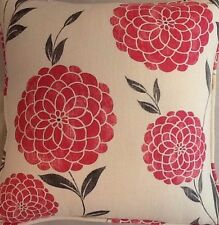 A 16 inch cushion cover In laura ashley Erin Cherry fabric