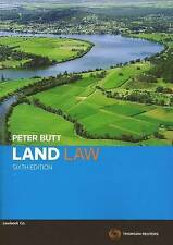 Land Law by Peter Butt (Paperback, 2009)