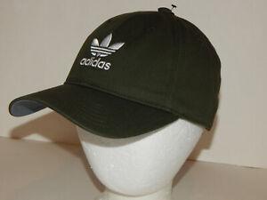 Adidas Original's Relaxed Hat / Cap Adjustable Trefoil Cargo, Burgundy or Black