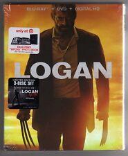 LOGAN BLU RAY / DVD / DIGITAL HD TARGET EXCLUSIVE PHOTO BOOK BRAND NEW