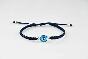 Turkish Evil Eye Bracelet Hamsa Hand Greek Mati Quality Bangle Jewellery Adults