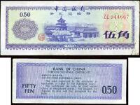 CHINE  CHINA  50 fen 1979    1980     ( 944667 )