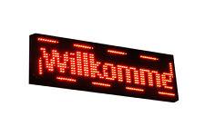 LED Laufschrift Werbeschrift Reklame Lauftext Werbetafel LED Schild ROT
