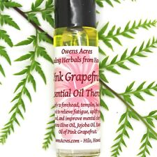 Roll On Aromatherapy Oil, Pink Grapefruit Essential Oil Therapy, Mood Lifting