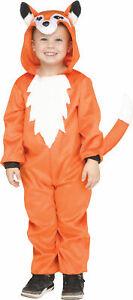 Friendly Fox Child Boys Girls Costume NEW