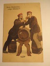 Drum Frangin: Ergo bibamus - 1916/CARTE