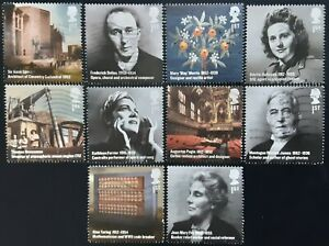 GB 2012 Britons Of Distinction Used Off Paper Set