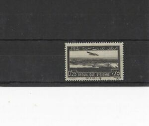 SYRIA , 1940, SG351 TYPE 45 0p.25 BLACK, USED   (PLEASE SEE NOTE)