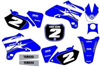 2003 2004 2005 Yamaha YZF 250 450  YZ250F YZ450F  GRAPHICS KIT DECALS DECO