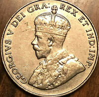 1934 CANADA 5 CENTS COIN - Excellent example!
