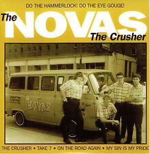 "NOVAS 'The Crusher 7"" NEW surf gene summers surfaris ventures astonauts esquires"