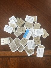 25 pack New Activation Ready At&T 4G Lte Nano 4Ff Sim Card 6944A