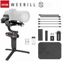 Zhiyun WEEBILL S 3 assi Fotocamera Stabilizzatore cardanico per Canon Nikon Sony