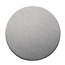 Beryllium Metal Machined Disks 3.6 Grams + 99.9% 50mm x 1mm
