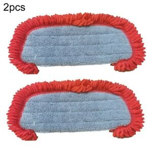2pcs Mop Cloth Replacement SD21000 Washable AD51005 Fittings Microfiber
