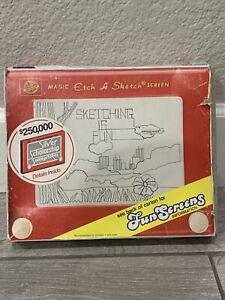 VINTAGE MAGIC ETCH A SKETCH - OHIO ART - NO. 505T - Including Original Box