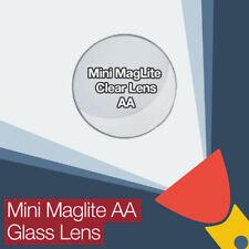 Mini lente de vidrio claro reemplazo Maglite Aa