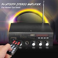 600W 220V Digital bluetooth Audio Stereo-Verstärker AMP SD USB FM Mic Heim Auto